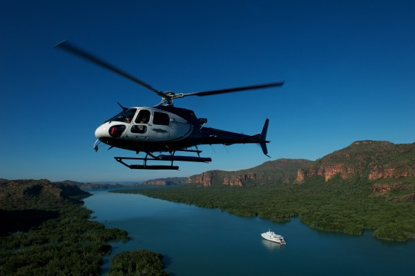 Aerial View from a helicopter, Wilderness Australia