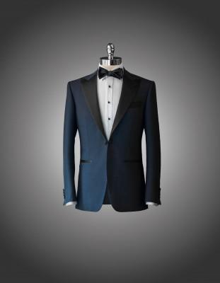 Michael Andrews Bespoke Blue Tuxedo