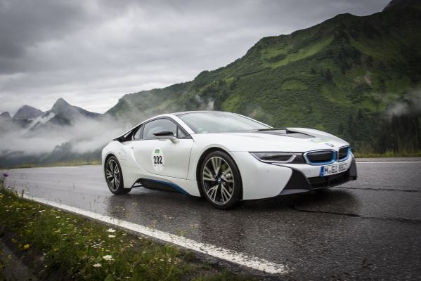 BMW i8 at Silvretta E Rallye 2014
